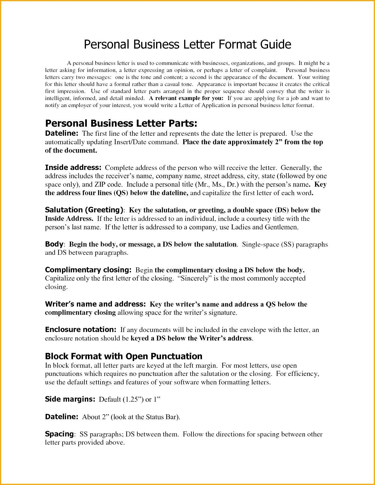 You Can See This Valid Business Letter format Enclosures