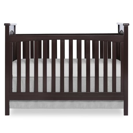 Dream On Me Cape Town 5 In 1 Convertible Crib Brown ...