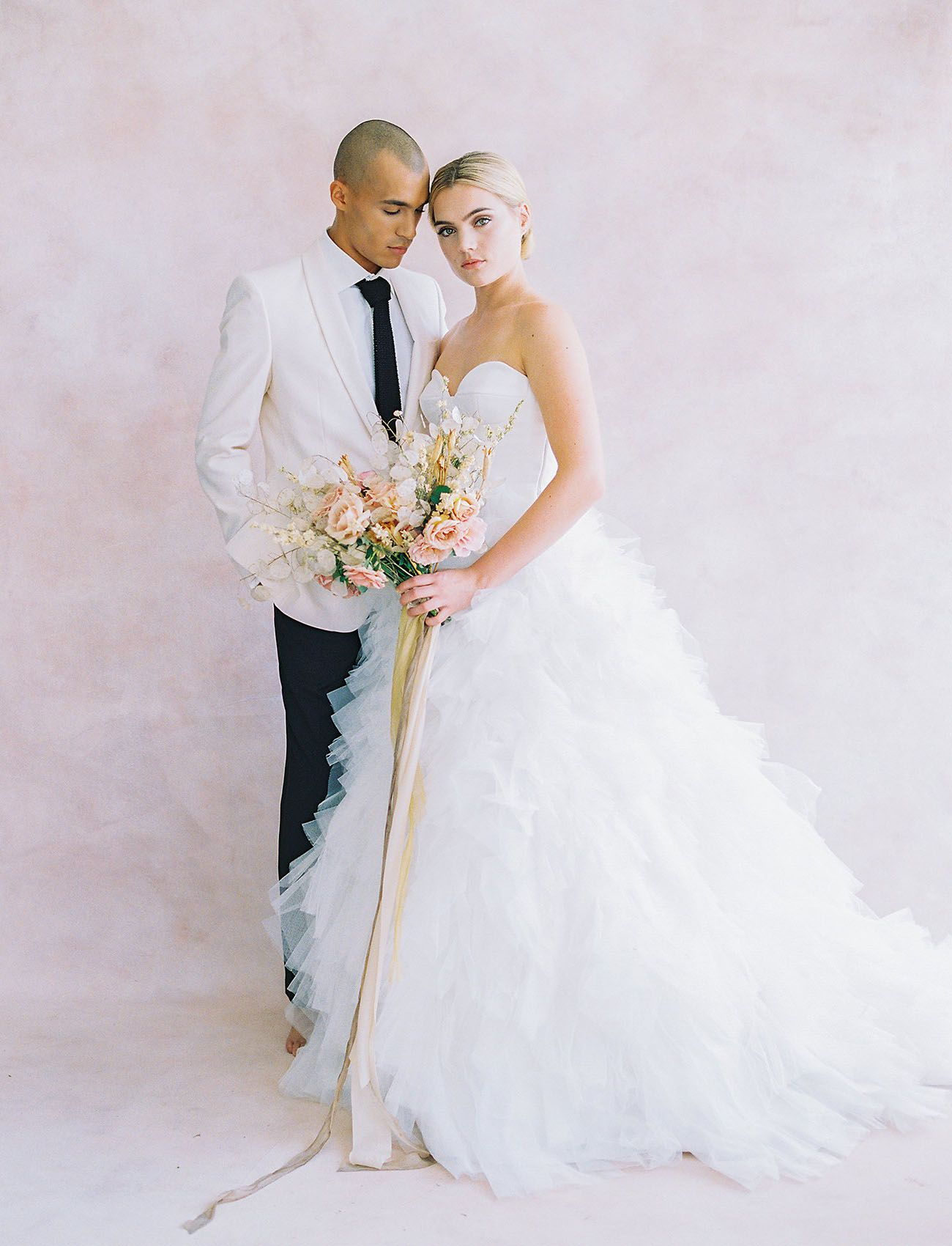 Inspiration for a beautifully blush moroccanstyle wedding