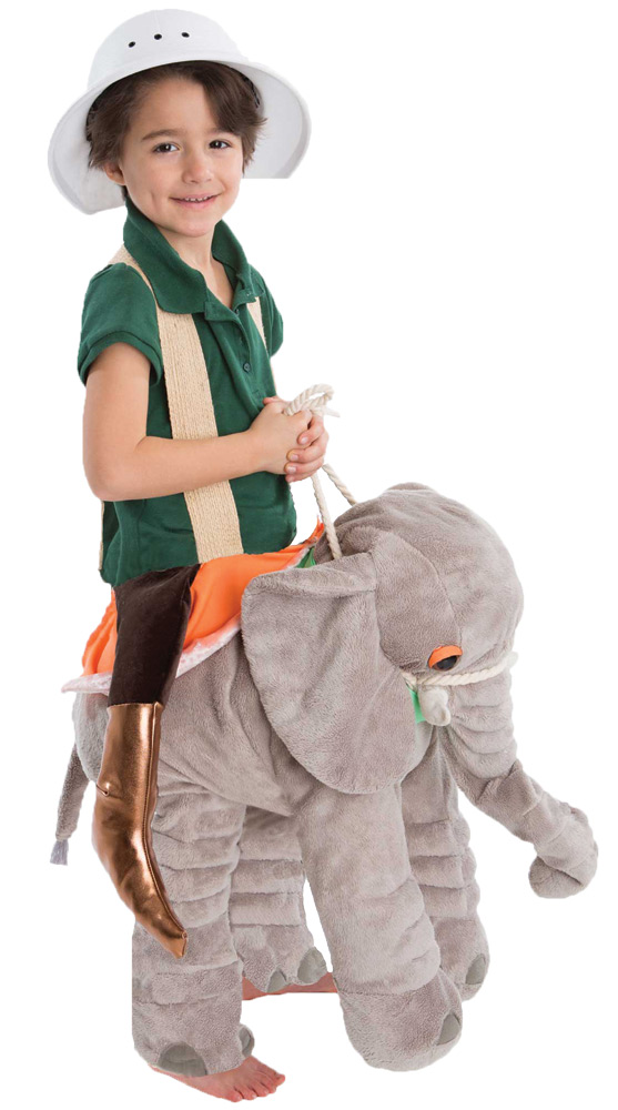 For Halloween Funny Cute Elephant Hat Party Costume ONE Free Size Gift Present