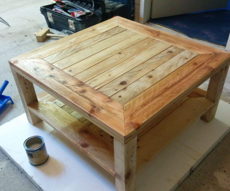 5 Things You Can Build With Pallets Painted Furniture Ideas Wooden Pallet Projects Designs Coffee Table Made From