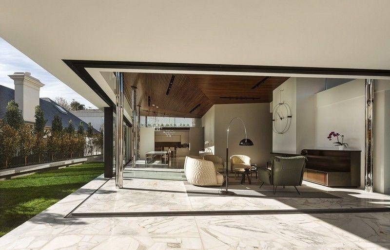 Moderner Bodenbelag für Terrasse und Wohnzimmer haus Pinterest