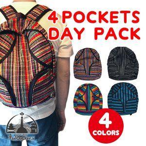 Photo of Asian bag ethnic backpack rucksack pattern men's ladies' school bag 4 pocket: fg-4sc01: Asian miscellaneous goods Fukagawa-mail order-Yahoo! Shopping