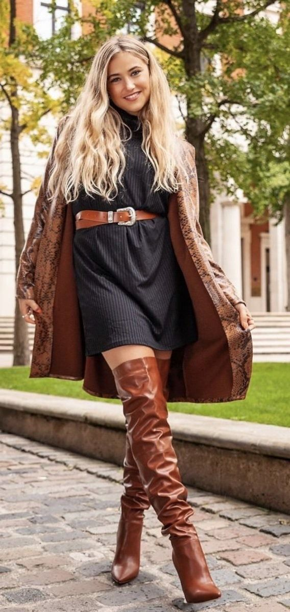 @benitathediva Thigh high boots, otk boots, camel and nude