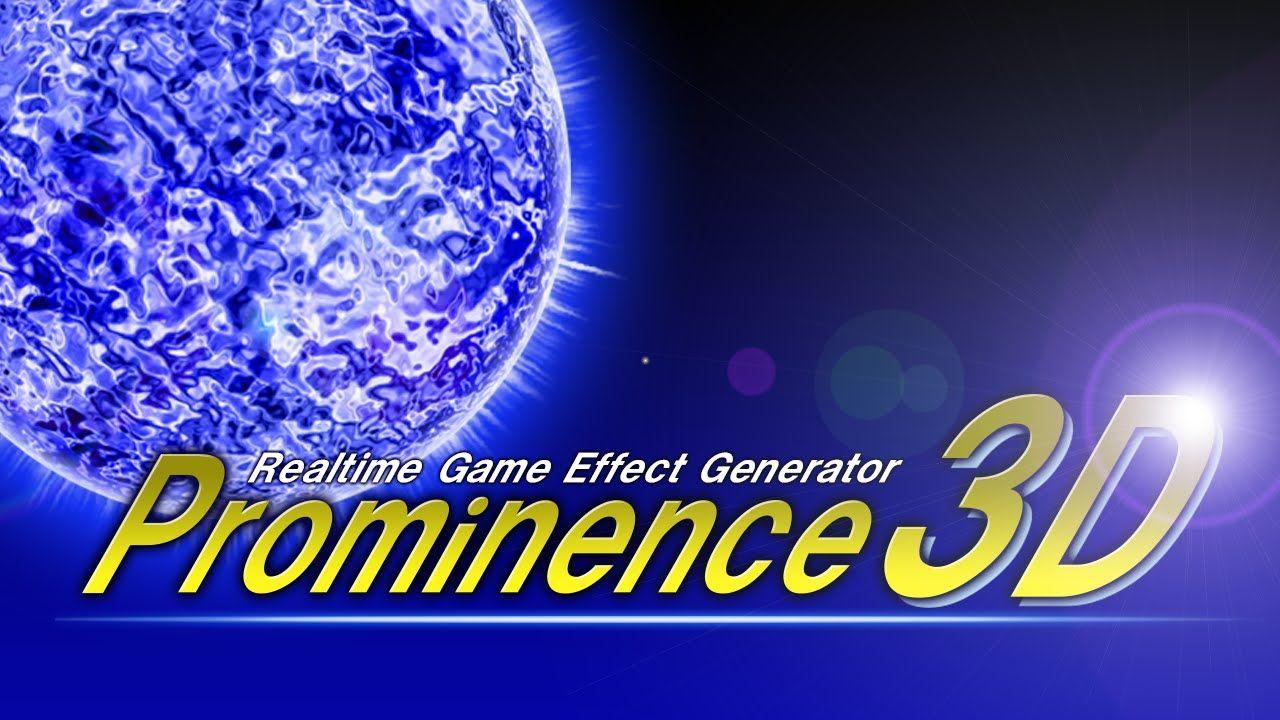 Prominence3Dは魔法や爆発などのエフェクトが誰でも簡単に作れてしまうソフトです。 体験版は無料です。 http://game-hikidashi.com/prominence3d/