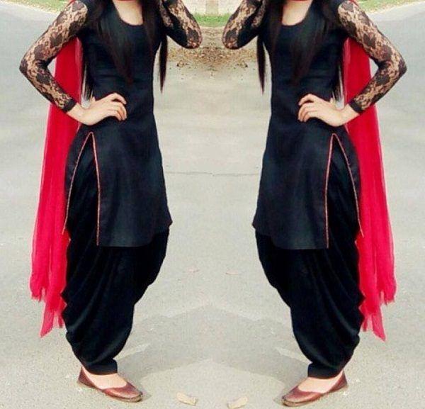 Beautiful Patiala Salwar Kameez Designs