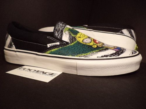 2007 Vans Classic Slip On Lx The Simpsons Movie Krusty The Clown Tony Munoz 11 The Simpsons Movie Vans Classic Slip On Vans