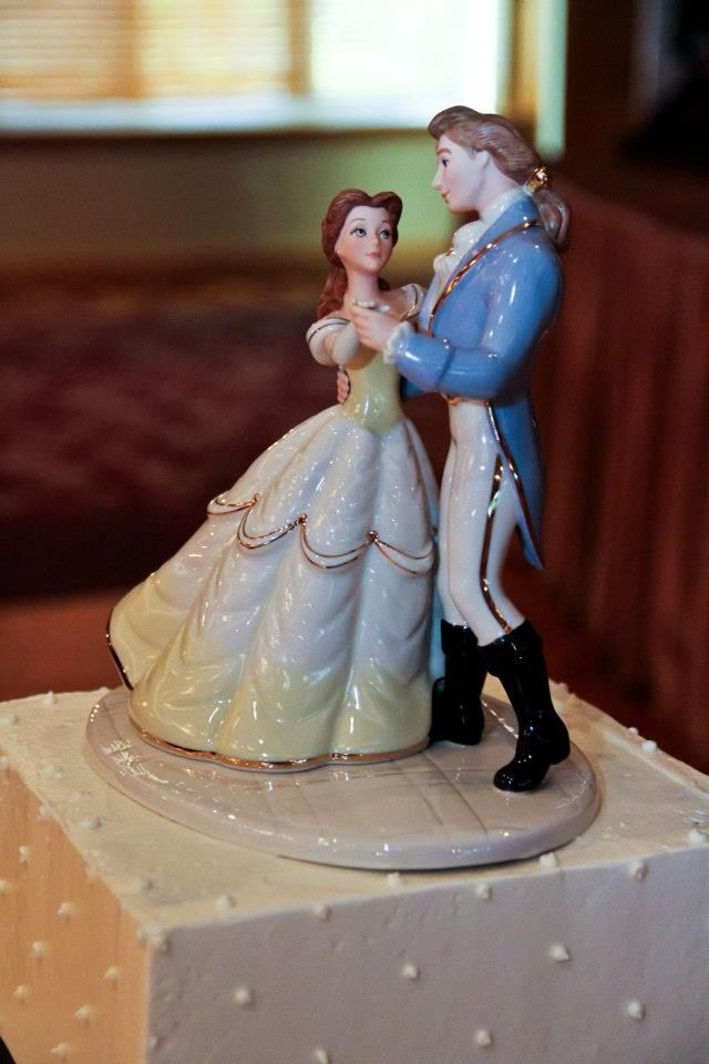 Beauty and the Beast cake topper, Lenox | Beauty and the beast ...