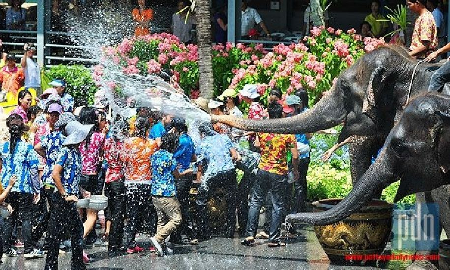 """Songkran is also known as the """"Water Festival"""" as people"""