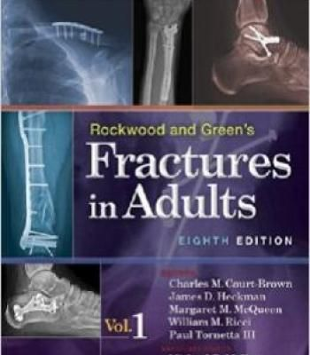 Rockwood And Green S Fractures In Adults 8th Edition PDF
