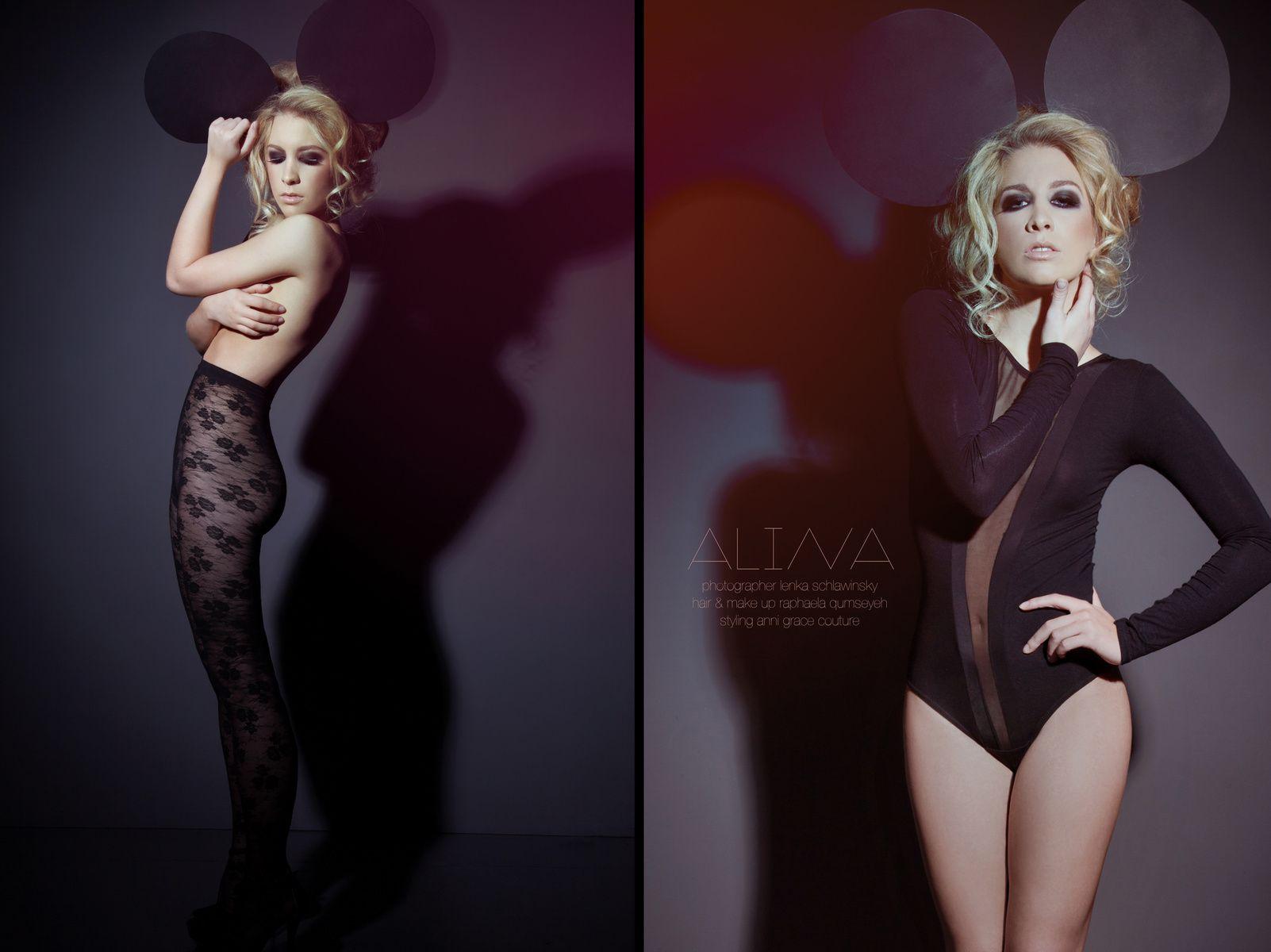 © Lenka Schlawinsky Photography Düsseldorf - Fashion #fashion #mickey mouse #tights #body