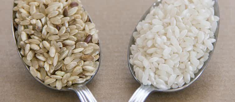 الأرز البني أم الأبيض أيهما أفضل للصحة Vegetarian Diet Vegetarian Vegetarian Protein
