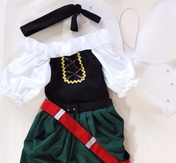 Zarina el pirata hada estilo #1-hadas traje - capitán Zarina - Disney crucero pirata - Fairy Outfit - hadas cumpleaños equipo 2T - 7Years