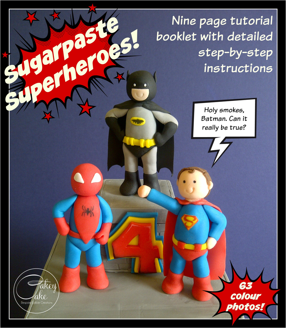 How To Make A D Spiderman Cake Step By Step