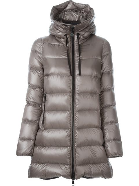 Moncler Torcy Padded Moncler- Taupe Feather jacket