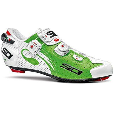 Sidi Wire Carbon Vernice Review | Sidi Wire Carbon Air Vernice Road Shoes Green Fluo White Review