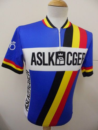 10e3b92f3 ASLK CGER. Bekijk deze pin en meer op Vintage Cycling Jerseys ...