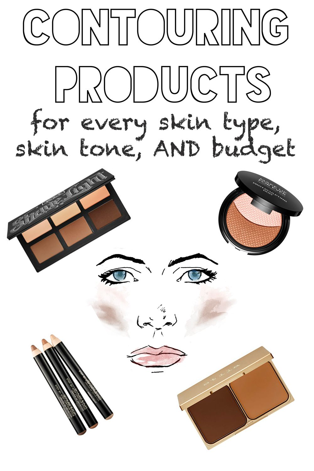 Best Contouring Products for Your Skin Type, Skin Tone