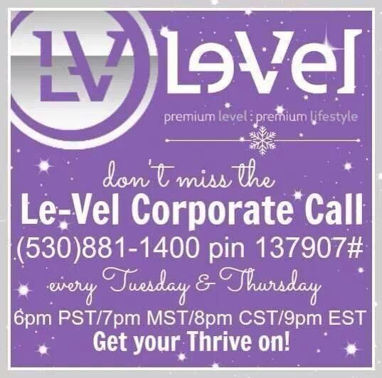 Want to hear from people who are thriving? These people on these calls are THRIVING on the products AND in the business! Hear the good news about Le-Vel! www.sherrileopold.le-vel.com