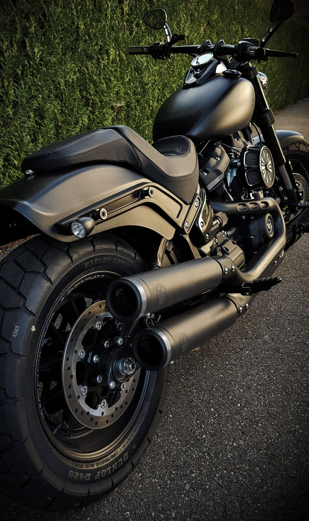 Pin On Harley Davidson Fat Bob