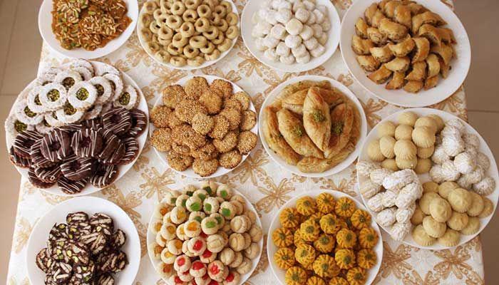 Pin By 3adiltech On المطبخ Eid Breakfast Eid Sweets Eid Biscuits