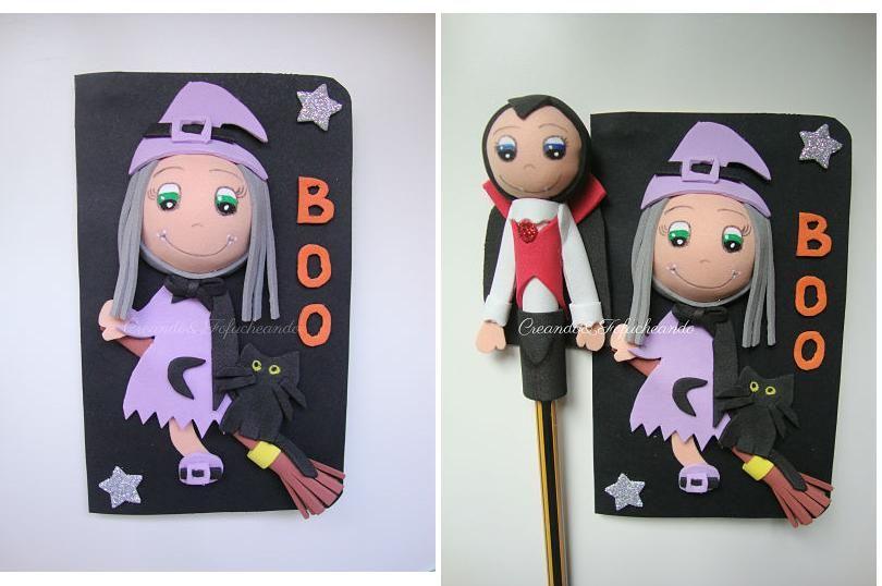 ¡Las muñecas fofuchas se visten de Halloween!