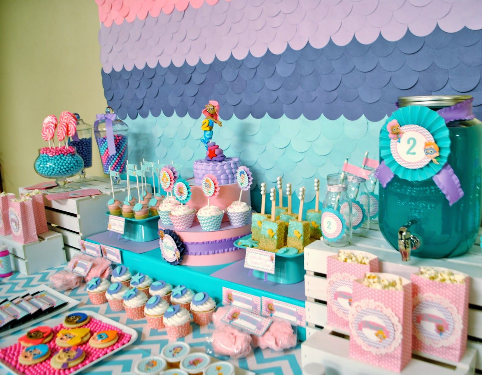 bubble guppies birthday party ideas google search parties