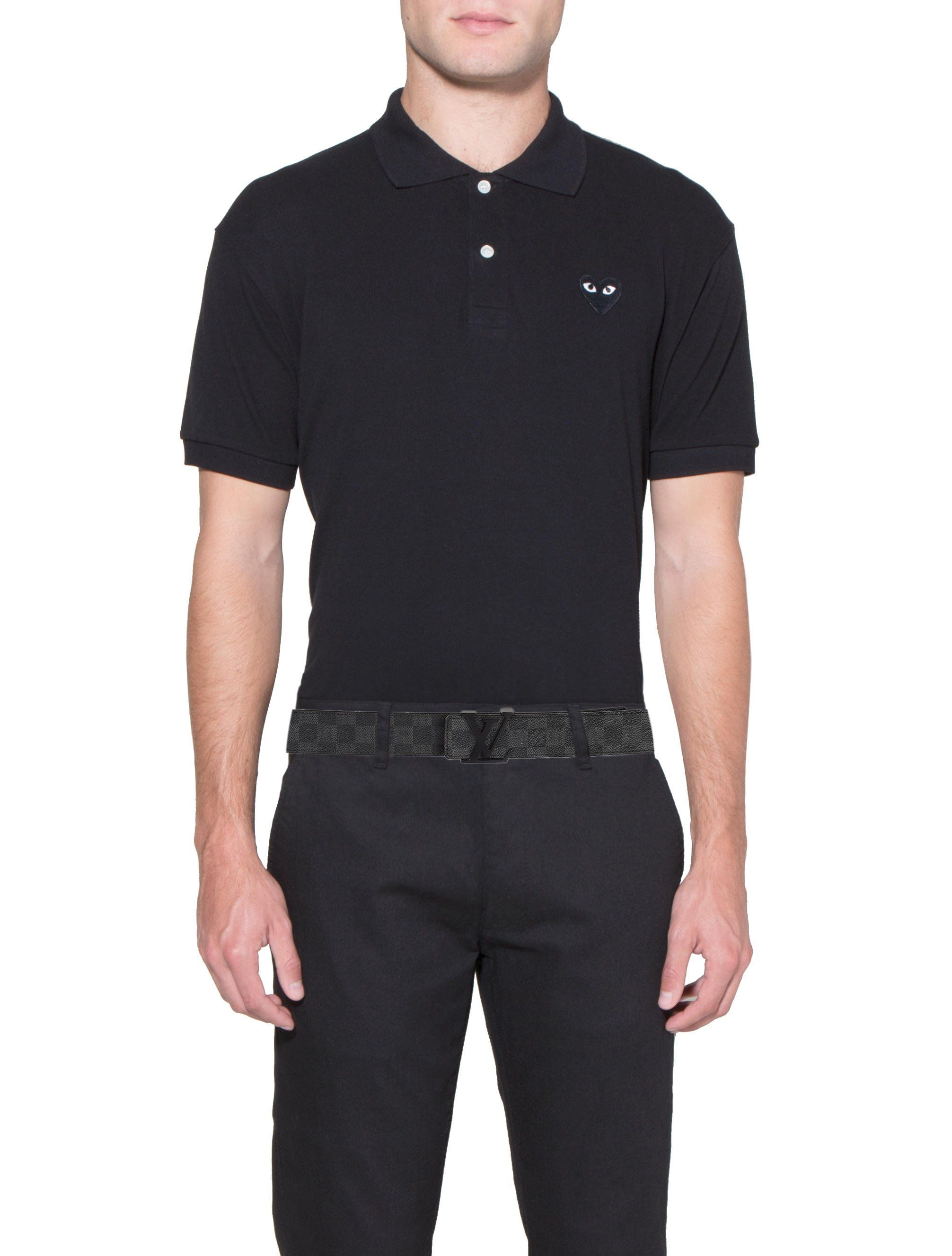 3ac98e8144da Men s black and charcoal Damier Graphite Louis Vuitton Initiales Belt with  black peg-in-hole buckle closure. Date code reads AC2187. Designer size 90.  Inclu