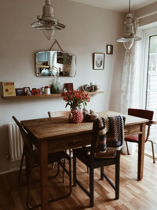 vintage decor ideas in dining room