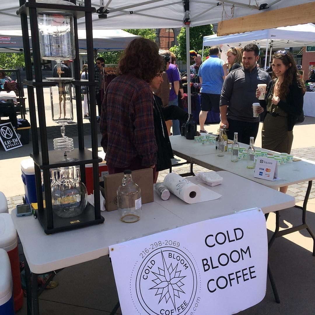 coldbloomcoffee was rocking it all day long in the park