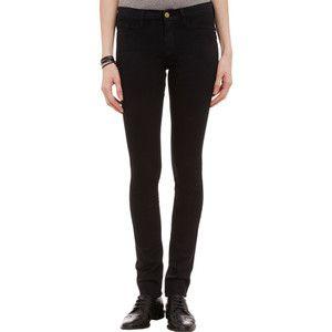 Frame Denim Forever Karlie Skinny Jeans - NOIR