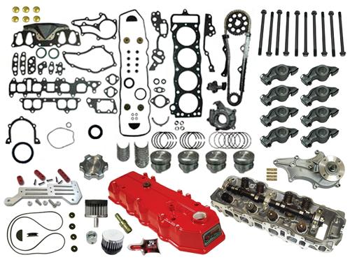 Builder Series Street Engine Kit 22r Re 1985 1995 Engineering Classic Cars Toyota Trucks