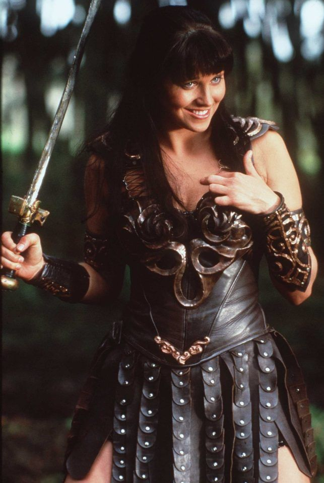 Download this stock image: LUCY LAWLESS XENA: WARRIOR