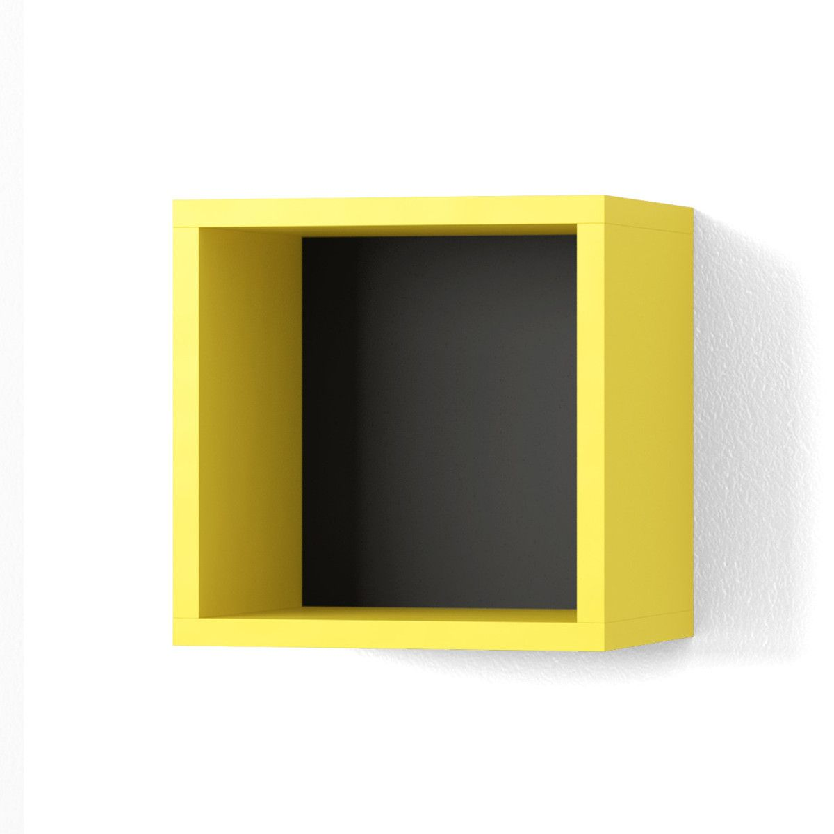 Cube Shelf 12x12 Yellow. This would work well in my craft room for ...
