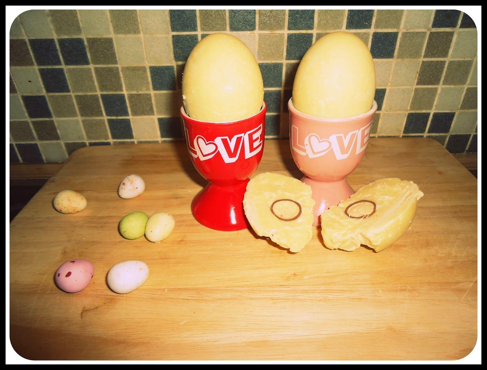Easter chocolate eggs  Love always, JB