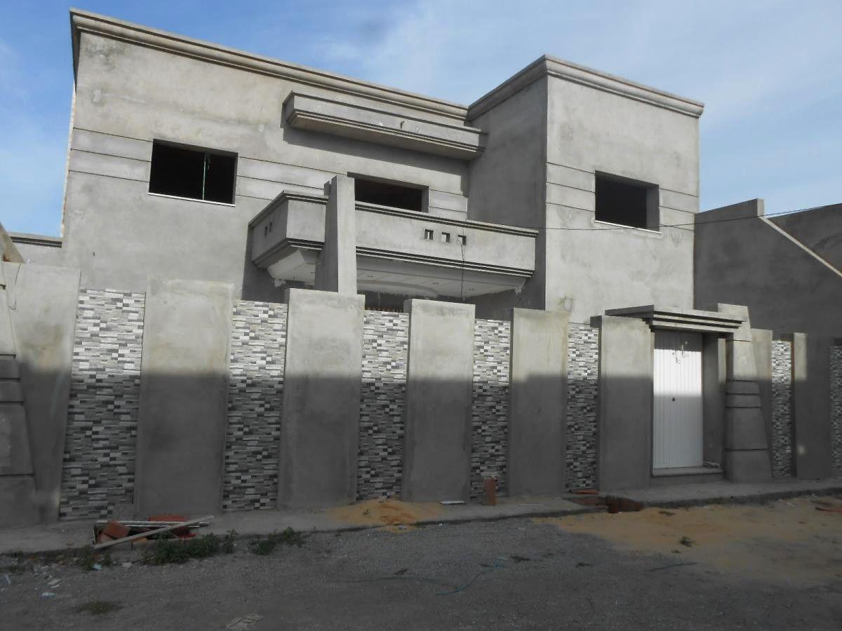 facade maison tunisie decoration