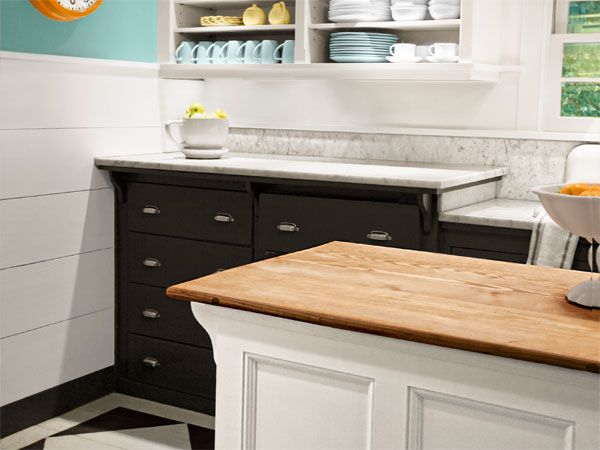 Create An Island Countertop With Wallet Friendly Southern Yellow Pine Stair  Treads With