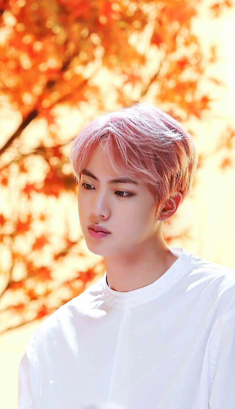 Bts Wallpaper Jin Pink Hair