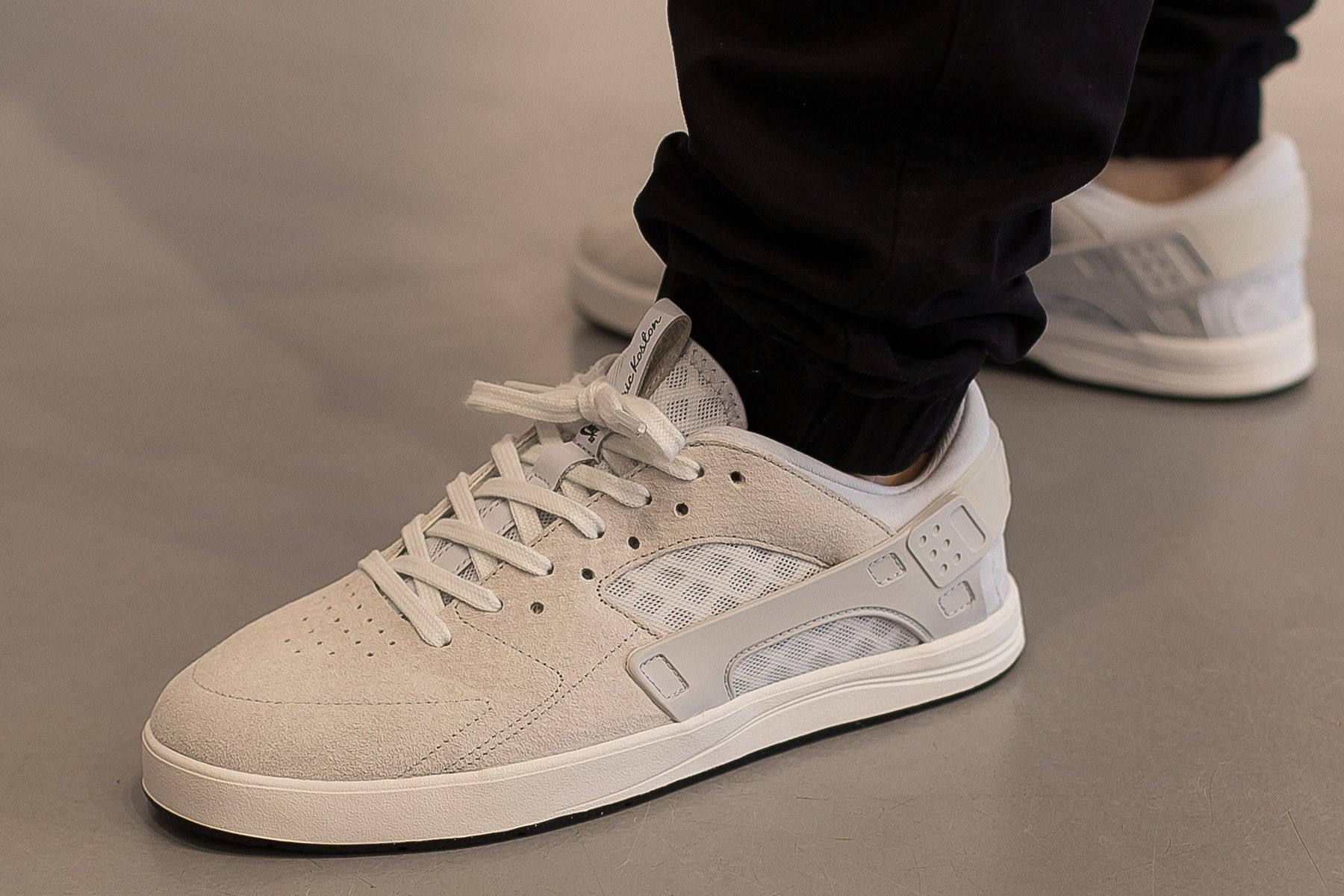 Scoprire più nuovo di vendita caldo ultima collezione Nike SB Eric Koston Huarache (Weiß / Platinum / Schwarz) | Nike sb ...