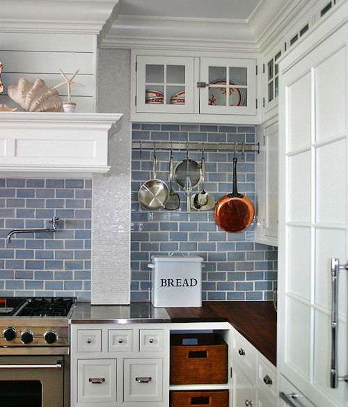 Pin by Becky Guillory on Beach House Chic in 2019 | Pinterest ... Beachy Kitchen Ideas Grey Blue Html on