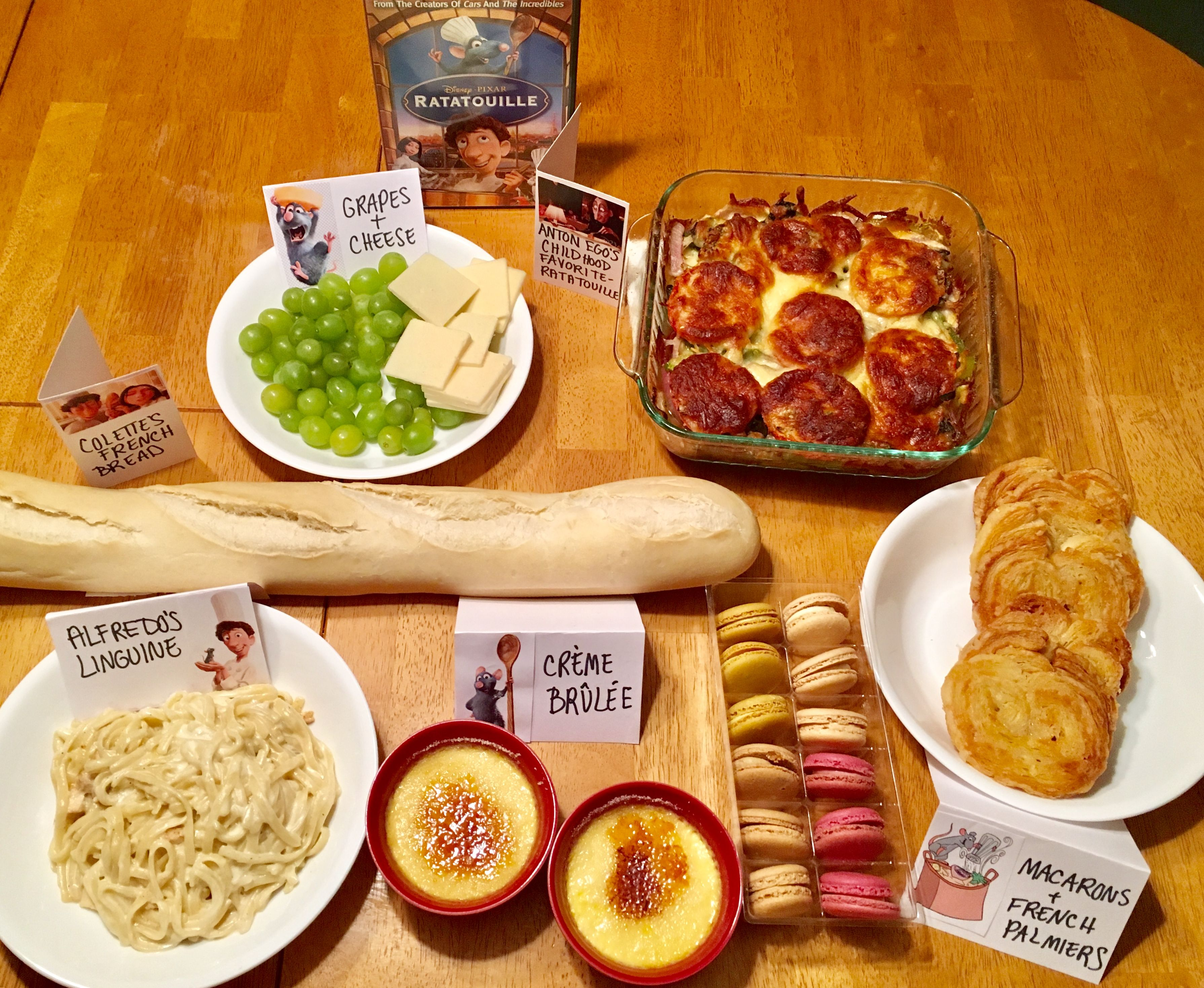 Ratatouille Movie Night Movie Night Food Disney Movie Night Food Disney Movie Night