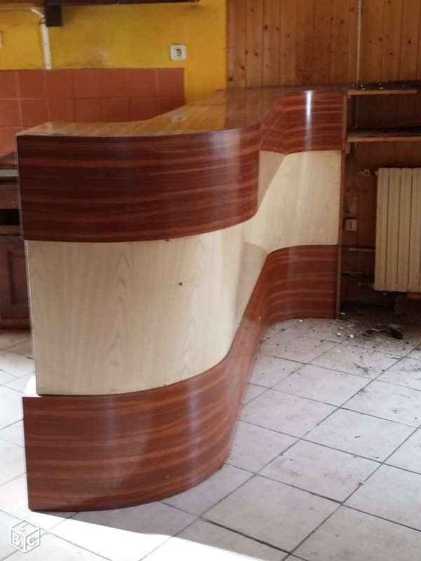 meuble de bistrot sixties comptoir de bar en formica pinterest comptoirs de bar meubles. Black Bedroom Furniture Sets. Home Design Ideas