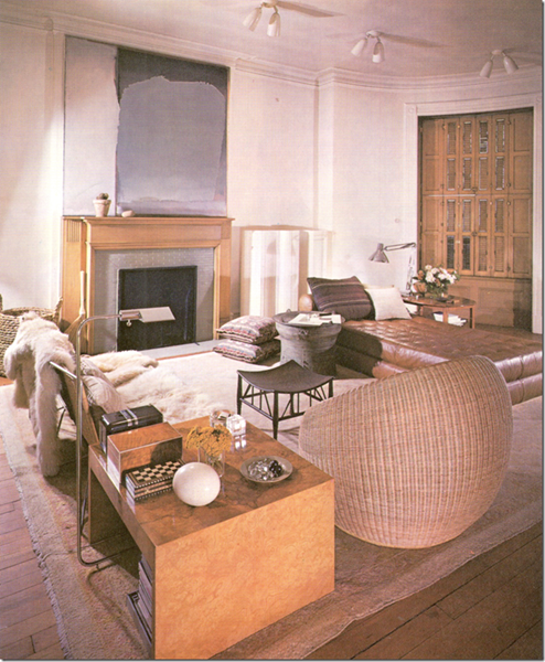 Link To History Of Saladinos Own Homes Starting With His 1969 Apartment Living Room