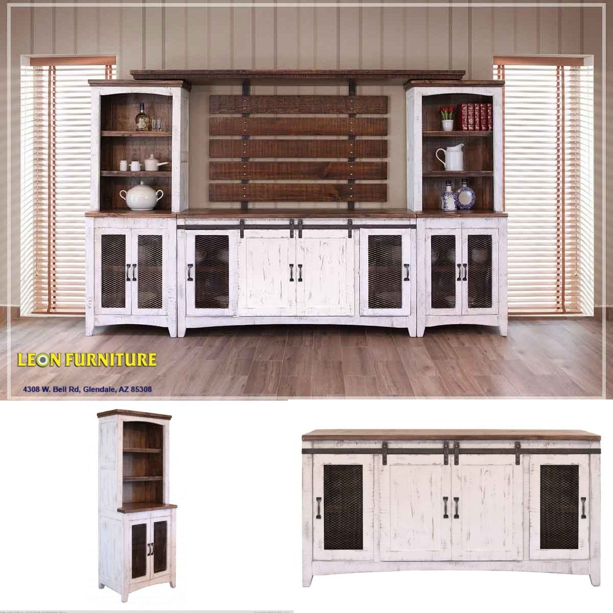 Pueblo -White- Wall Unit