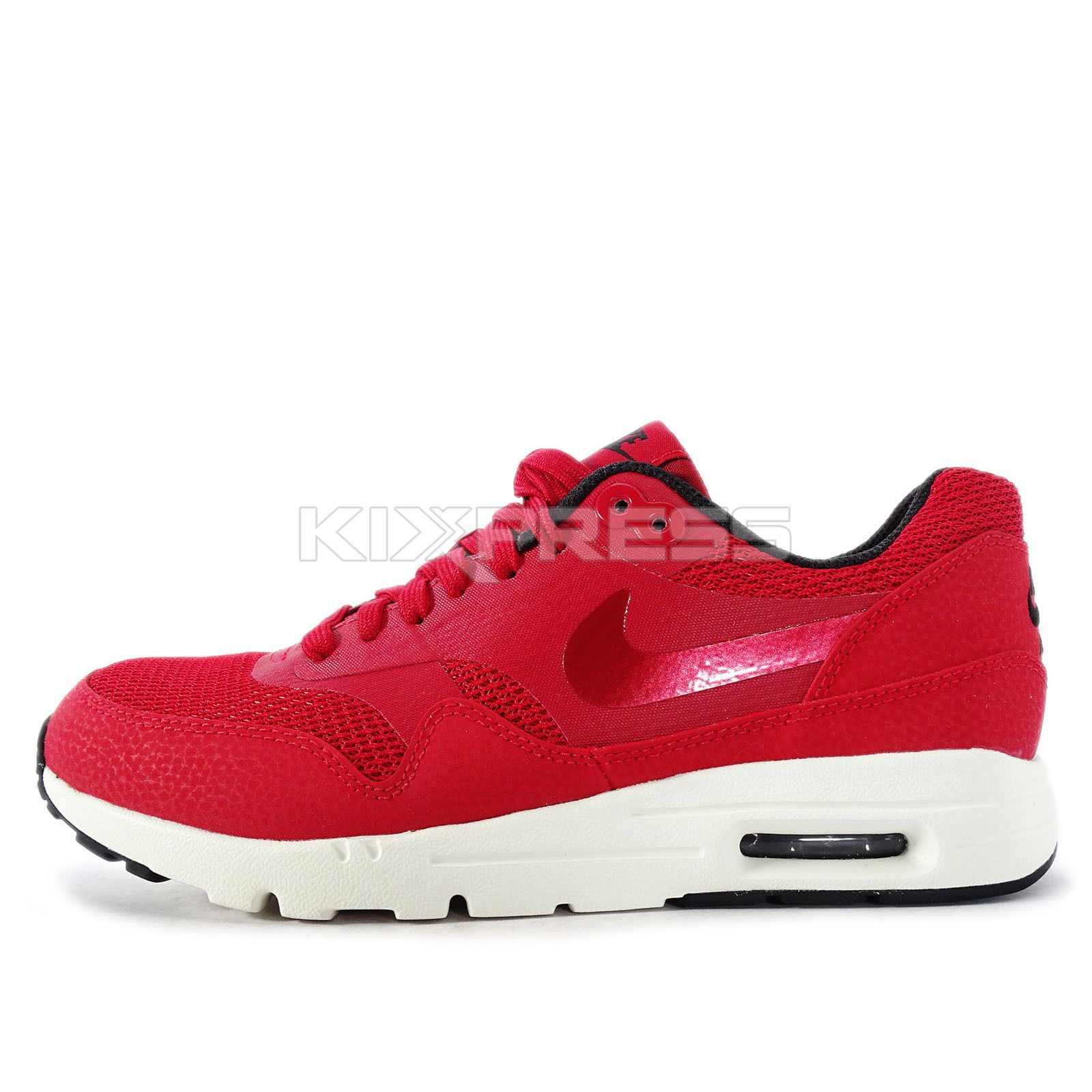 7047ab5e4f Wmns Nike Air Max 1 Ultra Essentials [704993-600] Nsw Running Gym Red/Black -Sail