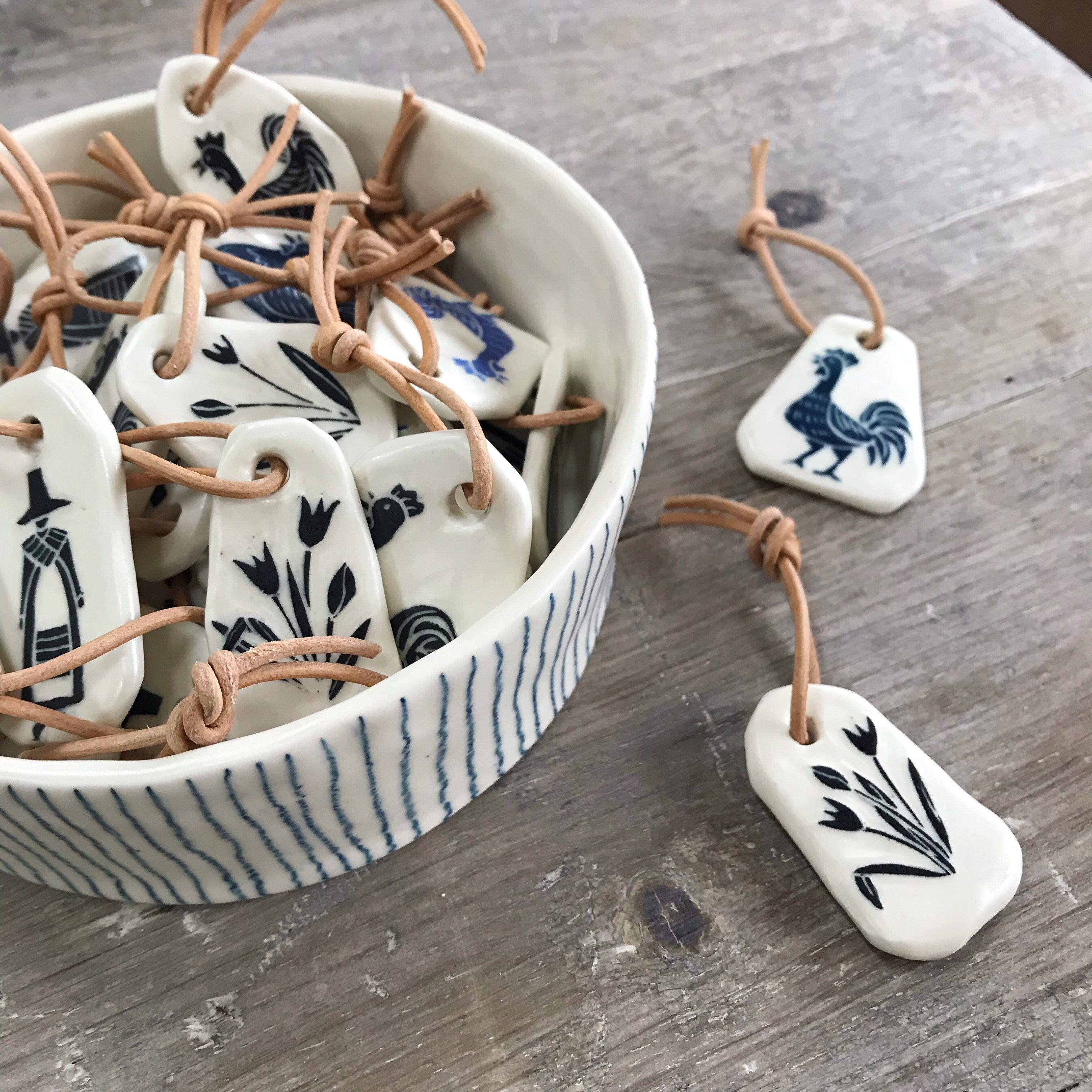 Skratch Ceramics | Ceramic Key-rings #ceramicpottery