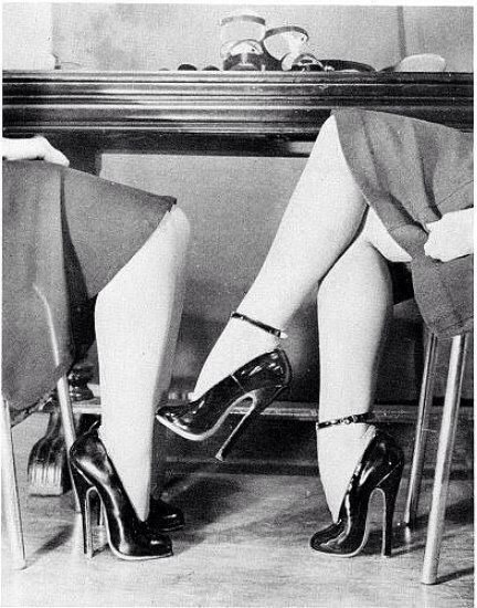 Stunning high heels.