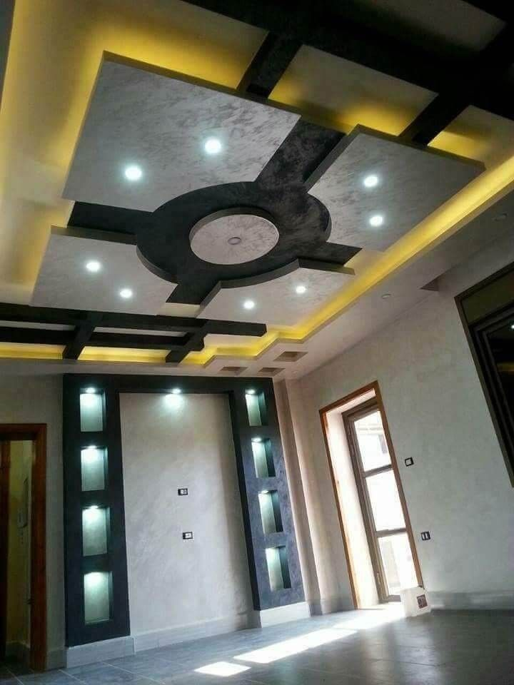 Contemporary Ceiling Designs For Living Room: Pin By Civil Engineering Discoveries On Ceiling Design