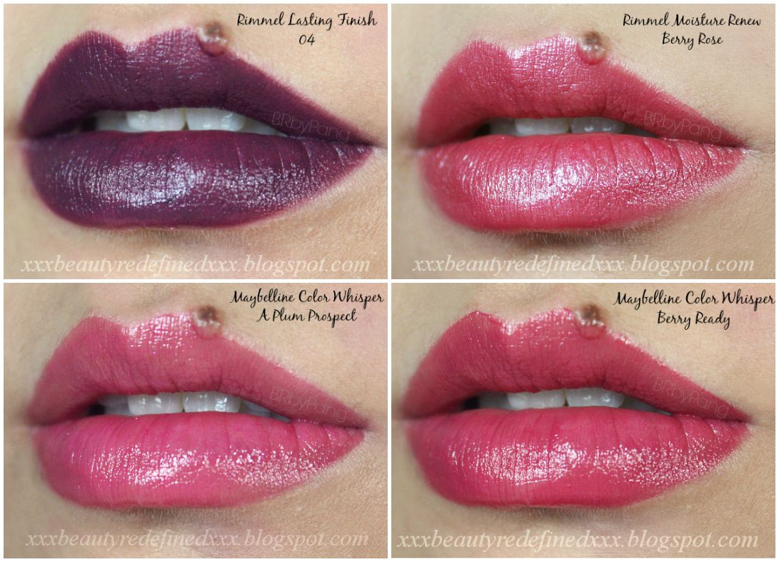 Maybelline Berry Best | Nyx Very Berry Maybelline color whisper ...