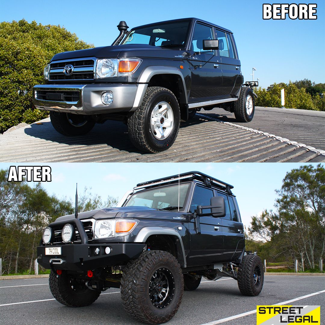 Transformation Tuesday! 😉🤤 The Superior 79 Series
